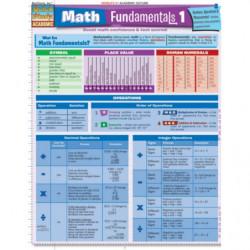 Math Quick Study Laminated...
