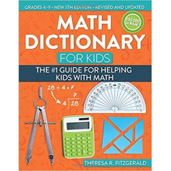 Math Dictionary for Kids...